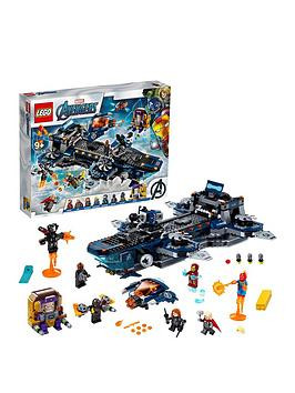 Save £12 at Very on Lego Super Heroes 76153 Avengers Helicarrier With Iron Man, Thor  Captain Marvel