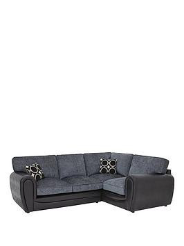 Save £150 at Very on Bardot Right-Hand Double Arm Standard Back Corner Group Sofa
