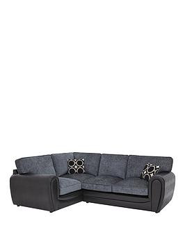 Save £150 at Very on Bardot Left-Hand Double Arm Standard Back Corner Group Sofa