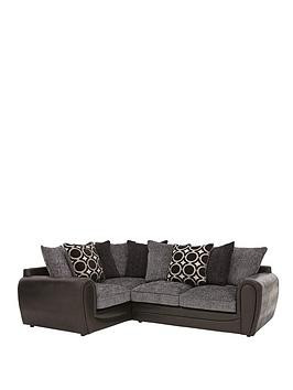 Save £150 at Very on Bardot Left-Hand Double Arm Scatterback Corner Group Sofa