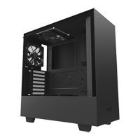 Save £5 at Scan on NZXT H500, Black, Mid Tower Computer Chassis, Tempered Glass Window, ATX/MicroATX/Mini-ITX, 2x 120mm Aer Fans