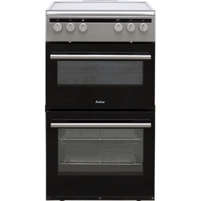 Save £30 at AO on Amica AFC5100SI 50cm Electric Cooker with Ceramic Hob - Silver - A/A Rated