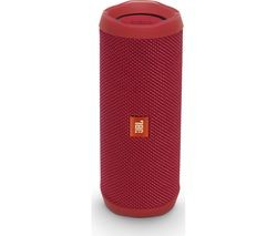 Save £5 at Currys on JBL Flip 4 Portable Bluetooth Wireless Speaker - Red