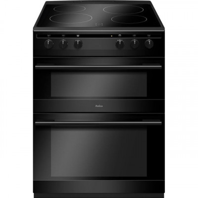 Save £40 at AO on Amica AFC6520BL 60cm Electric Cooker with Ceramic Hob - Black - A/A Rated