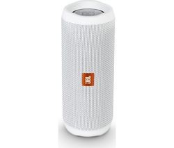 Save £5 at Currys on JBL Flip 4 Portable Bluetooth Wireless Speaker - White
