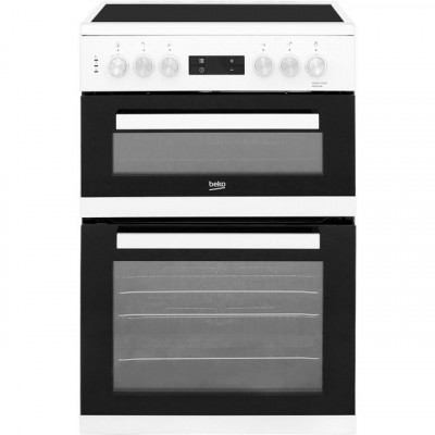 Save £130 at AO on Beko KDC653W 60cm Electric Cooker with Ceramic Hob - White - A/A Rated
