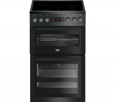 Save £50 at Currys on BEKO Pro XDVC5XNTT 50 cm Electric Cooker - Anthracite, Anthracite