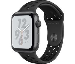 Save £30 at Currys on APPLE Watch Series 4 Nike+ - Space Grey & Anthracite Sports Band, 44 mm