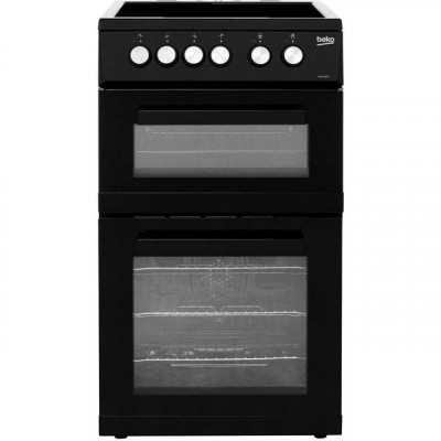 Save £103 at AO on Beko KDVC563AK 50cm Electric Cooker with Ceramic Hob - Black - A/A Rated