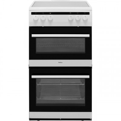 Save £31 at AO on Amica AFC5100WH 50cm Electric Cooker with Ceramic Hob - White - A/A Rated