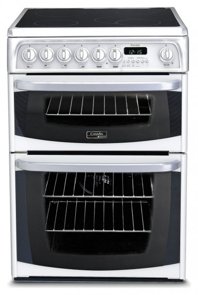 Save £95 at Argos on Hotpoint CH60EKWS 60cm Double Oven Electric Cooker - White