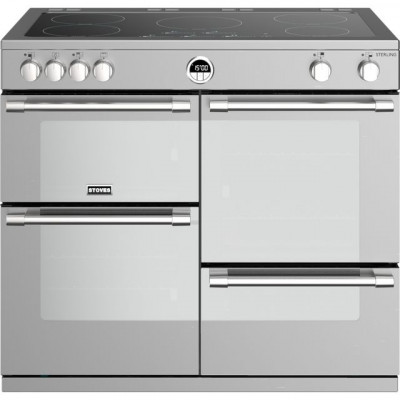 Save £224 at AO on Stoves Sterling S1000EI 100cm Electric Range Cooker with Induction Hob - Stainless Steel - A/A/A Rated