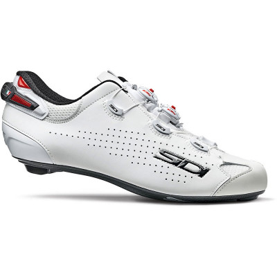 Save £38 at Chain Reaction Cycles on Sidi Shot 2 Road Cycling Shoes SS21 - White-White - EU 41, White-White