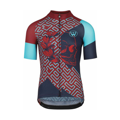 Save £15 at Chain Reaction Cycles on Assos Fastlane Wyndymilla SS Cycling Jersey SS21 - Anarchy, Anarchy