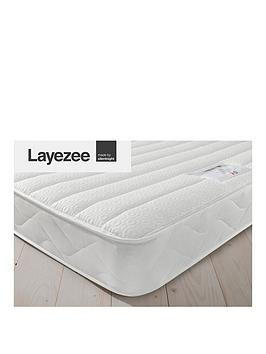 Save £54 at Very on Layezee Made By Silentnight Fenner Spring Memory Mattress