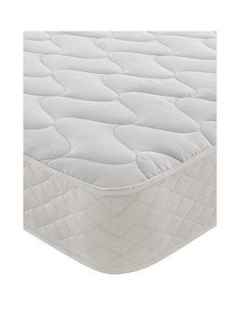 Save £15 at Very on Silentnight Essentials Open Coil Quilted Mattress - Firm