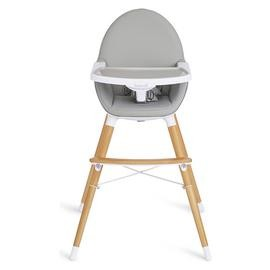 Save £26 at Argos on Koo-di Duo Wooden High Chair - Grey