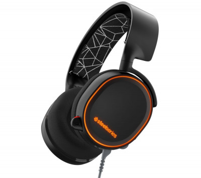 Save £21 at Currys on STEELSERIES Arctis 5 7.1 Gaming Headset - Black, Black