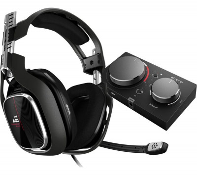 Save £29 at Currys on ASTRO A40TR Gaming Headset & MixAmp Pro - Black, Xbox, Black