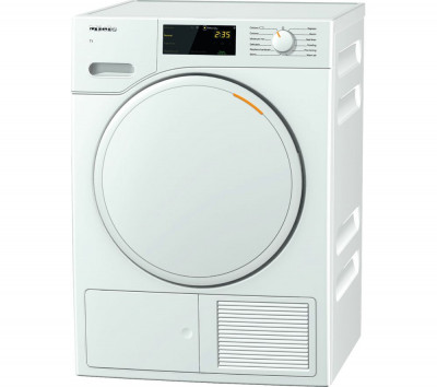Save £245 at Currys on MIELE TWB140 WP 7 kg Heat Pump Tumble Dryer - White, White