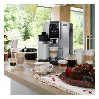 Save £246 at Sonic Direct on Delonghi ECAM37085SB Dinamica Plus Bean to Cup Coffee Machine Siver