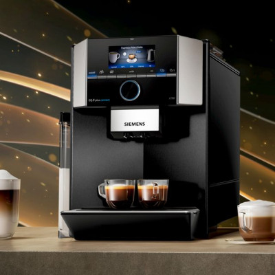 Save £200 at AO on Siemens EQ9 TI9573X9RW Bean to Cup Coffee Machine - Black / Stainless Steel