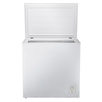 Save £81 at Sonic Direct on Fridgemaster MCF198 80 2cm Chest Freezer in White 198L 0 84m F Rated