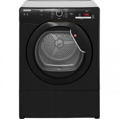 Save £33 at AO on Hoover Link HLV9DGB 9Kg Vented Tumble Dryer - Black - C Rated