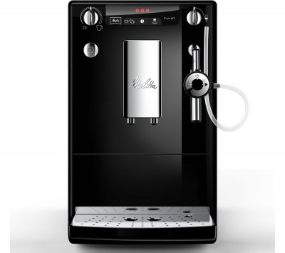 Save £50 at Currys on MELITTA Caffeo Solo & Perfect Milk E 957-101 Bean to Cup Coffee Machine - Black, Black