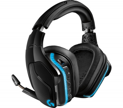 Save £15 at Currys on LOGITECH G935 Wireless 7.1 Gaming Headset - Black, Black