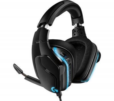 Save £22 at Currys on LOGITECH G635 7.1 Gaming Headset - Black, Black