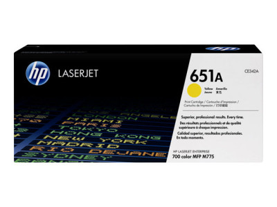 Save £49 at Ebuyer on HP 651A Yellow Laserjet Toner Cartridge - CE342A