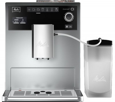 Save £140 at Currys on MELITTA Caffeo CI Bean to Cup Coffee Machine - Silver & Stainless Steel, Stainless Steel