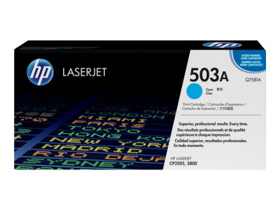 Save £99 at Ebuyer on HP 503A Cyan Toner Cartridge 6000 Pages - Q7581A