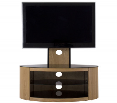 Save £50 at Currys on AVF Buckingham 1000 mm TV Stand with Bracket - Oak, Black
