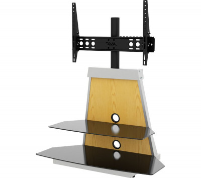 Save £50 at Currys on AVF Options Stack 900 mm TV Stand with Bracket with 4 Colour Settings, White