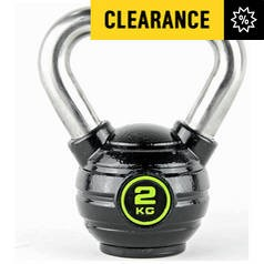 Save £1 at Argos on Opti Eco-Iron and Stainless Steel Kettlebell - 2kg