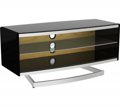 Save £80 at Currys on AVF Portal 1000 TV Stand with 4 Colour Settings, Black