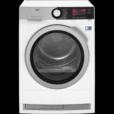 Save £150 at AO on AEG AbsoluteCare Technology T8DEC946R 9Kg Heat Pump Tumble Dryer - White - A++ Rated