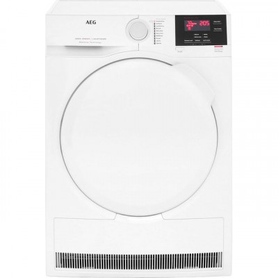 Save £61 at AO on AEG ProSense Technology T6DBG720N 7Kg Condenser Tumble Dryer - White - B Rated