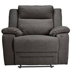 Save £142 at Argos on Argos Home Blake Fabric Manual Recliner Chair - Grey