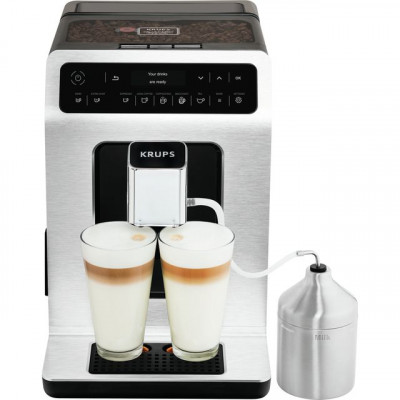 Save £150 at AO on Krups Evidence EA891D27 Bean to Cup Coffee Machine - Stainless Steel / Black