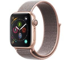 Save £30 at Currys on APPLE Watch Series 4 - Gold & Pink Sand Sports Loop, 40 mm