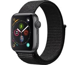 Save £30 at Currys on APPLE Watch Series 4 - Space Grey & Black Sports Loop, 40 mm