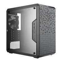 Save £5 at Scan on Cooler Master MasterBox Q300L, Black, Mini Tower Computer Chassis, w/ Window, micro-ATX/Mini-ITX, 120mm Fan, USB 3.0