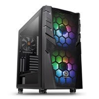 Save £11 at Scan on Thermaltake Commander C32 Midi Chassis, Tempered Glass, 2x 200mm ARGB Fans/1x 120mm, USB 3.0, ATX/MicroATX/Mini-ITX