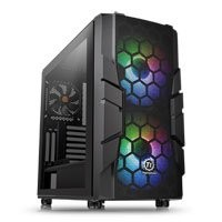 Save £11 at Scan on Thermaltake Commander C33 Midi Chassis, Tempered Glass, 2x 200mm ARGB Fans/1x 120mm, USB 3.0, ATX/MicroATX/Mini-ITX