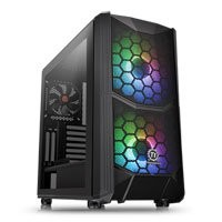 Save £11 at Scan on Thermaltake Commander C35 Midi Chassis, Tempered Glass, 2x 200mm ARGB Fans/1x 120mm, USB 3.0, ATX/MicroATX/Mini-ITX