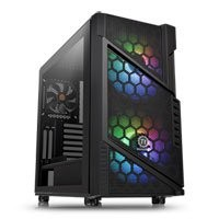 Save £11 at Scan on Thermaltake Commander C31 Midi Chassis, Tempered Glass, 2x 200mm ARGB Fans/1x 120mm, USB 3.0, ATX/MicroATX/Mini-ITX