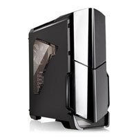 Save £6 at Scan on Thermaltake Versa N21 Mid Tower Computer Chassis, ATX/MicroATX/MiniITX, with Window, USB 3.0, 120mm Fan, Black